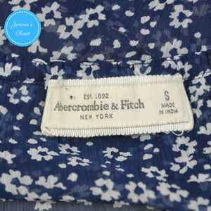 Abercrombie & Fitch Tops - Abercrombie & Fitch Floral Ruffle Tank Top S